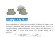 Rubber Edge Polishing Wheels