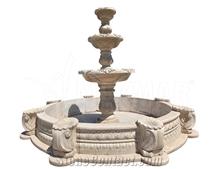 Travertine Fountain Madrid