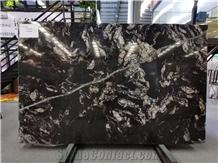 Black/Gold /White Stone Marble Slabs