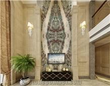 Green Terrazzo Floor Tiles/Salbs
