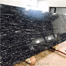 Black Marquino Granite Slabs Exotic Stone