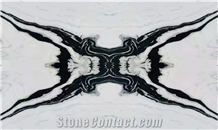China Panda White Marble Polished Tiles & Wall Cladding