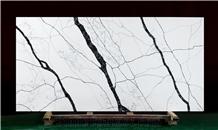 Artificial Stone Calacatta White Quartz Slab Quartz Stones