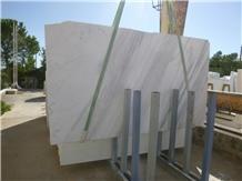 Volakas Marble Polished Slabs & Tiles, Volakas Diagonal Marble Calacatta Slabs