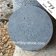 Lava Stone,Rounded Cooking,Grill Stone, Cooking Pans