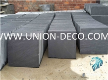 China Factory Wholesale Nutural Black Slate Wall Floor Tiles