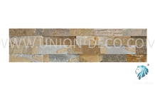 Chinese Natural Beige Color Slate Panel Interior Wall Tile