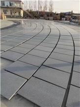 New G654 Slabs Tiles Flamed