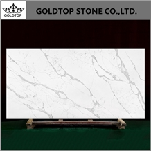 Caesarstone Artificial Calacatta Quartz Stone Slab