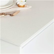 Iced White Quartz Kitchen Tops Vietnam Artificial Stone