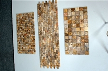Scabos Travertine Mosaic