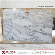 Calacatta Corchia Marble Slabs