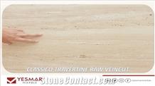 Classico Travertine Raw ,Gangsaw Cut ,Rough,Natural Surface