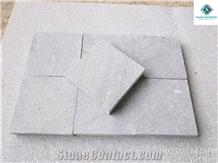 Garden Marble Stone Sandblasted Grey Marble Chamfered Edges