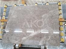 Silver Beige Marble Slabs