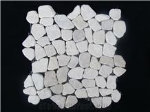 Marble Pebble Mosaic Tile