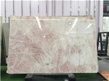 High Quality Pink Slab for Background Wall