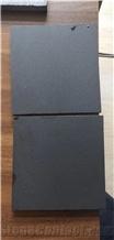China Mogolia Black Basat Tiles Honed Surface