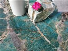 Amazon Emerald Quartzite Tiles & Slabs