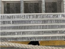 Eastern White Marble Honeycomb Panels