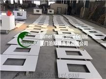 Artificial White Quartz Vanity Top
