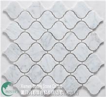 Cararra White Mosaic Tile