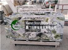 Ice Green Marble Vanity Top