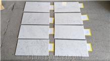 Bianco Carrara C Marble, White Marble Italy Tiles
