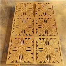 Beautiful Carving Sandstone Wall Cladding