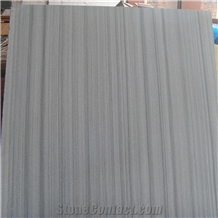 China Grey Wood Sandstone Tile for Floor and Wall