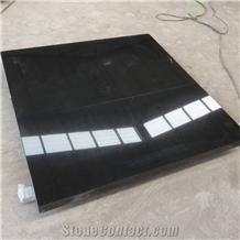 Cut to Size Shanxi Black Granite Floor Tiles