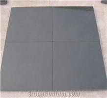Honed Black Sandstone Pool Edge Tile