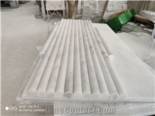 Oriental White Marble Moldings Borders Pencil Liners