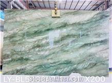 Brazil Royal Green Quartzite Polished Big Slabs & Tiles