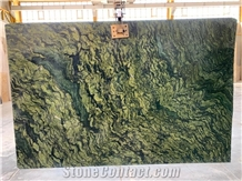 Iran Picasso Green Granite Polished Wall Slabs &Floor Tiles