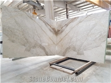 White Chocolate Marble Slabs, Calacatta White Dolomite Marble