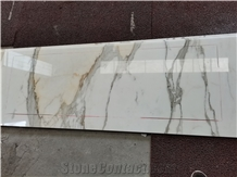 Calacatta Gold Marble Counter Tops and Marble Vanity Tops