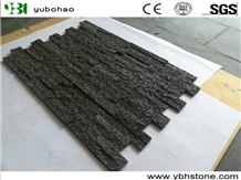Black Quartzite/Stacked Natural Stone Wall Panels