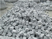 G623 Light Grey Cubes,Cobble Stone for Landscaping