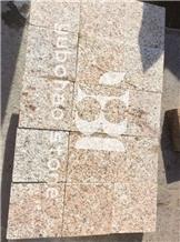 G682/Beige Granite Brick Cube Stones, Floor Paving