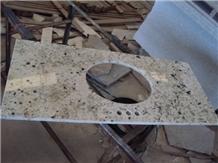 Galaxy White/Granite Stone, Countertops, Vanity
