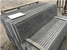 Gray China Granite, G602, Sesame White Steps