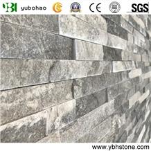 Grey Quartzite Split Cultured Stone for Wall