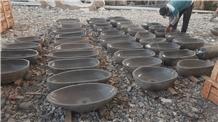 Natural River Stone Sinks, Batu Andesite Wash Basins