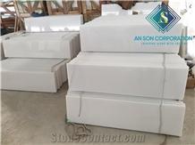 White Marble Steps & Riser