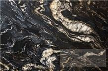 Titanium Gold Granite Slabs, Indian Titanium Gold Granite