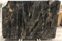 Golden Black Marble Slabs