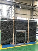Kenyan Black Marble Slab for Background Wall, Marble Slabs