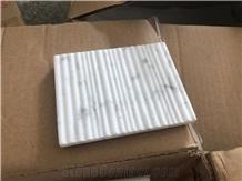 White Marble Stone Customized Bathroom Soap Dish Holder