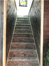 Grey Lido Marble Stairs Steps